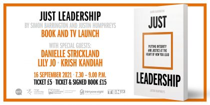 Just Leadership - Book and TV launch